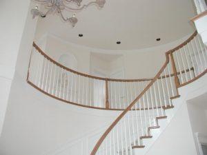 handcraft home remodeling wooden stairway