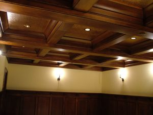 handcraft home remodeling wooden ceiling
