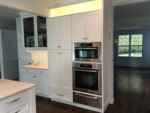custom carpentry kitchen cabinets