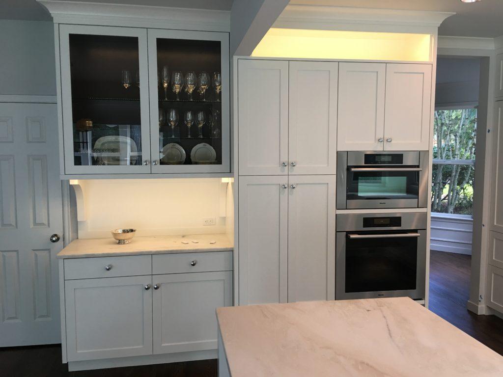 framed cabinets bellevue